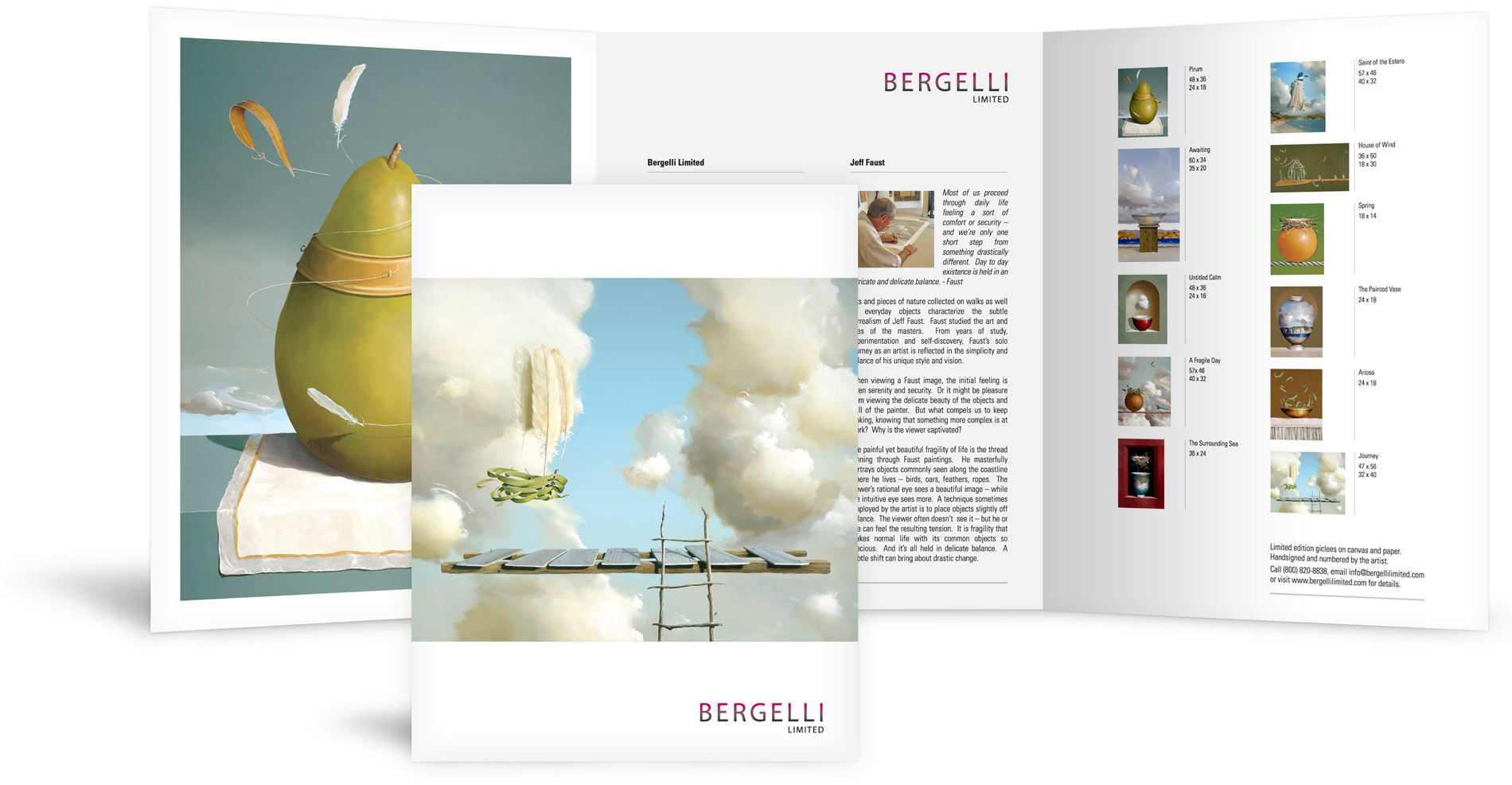Project: Gallery Brochure