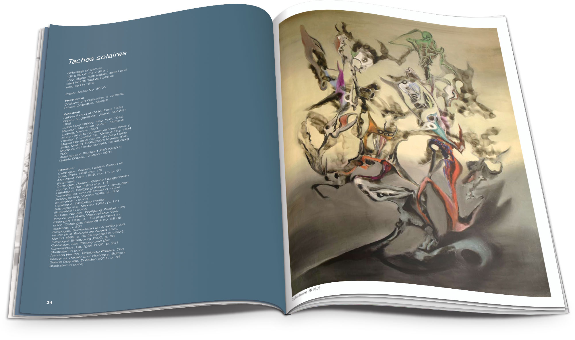 Project: Exhibition catalog design for an art gallery