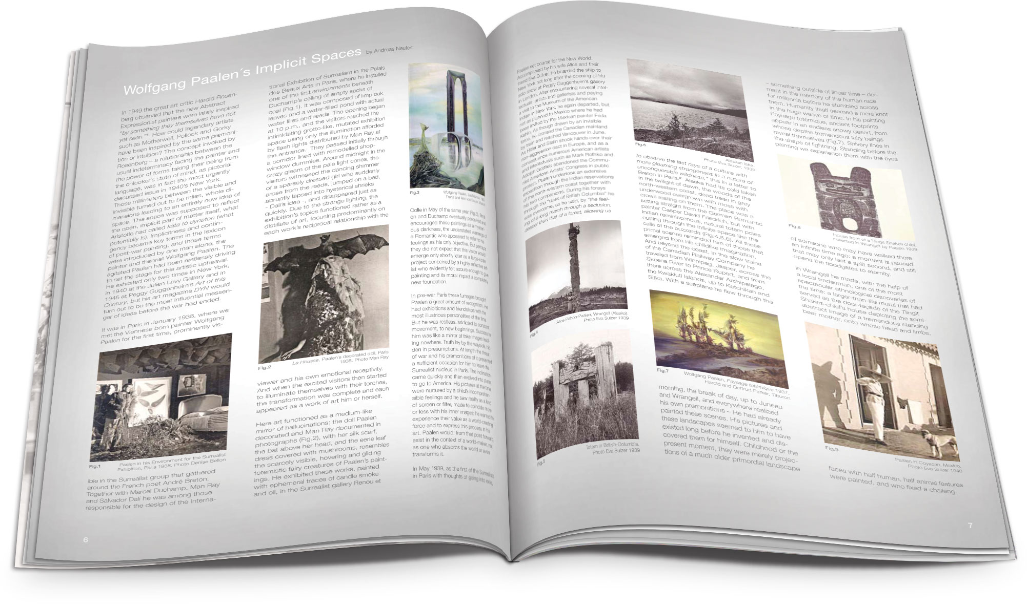 Project: Art exhibition catalog design for an art gallery