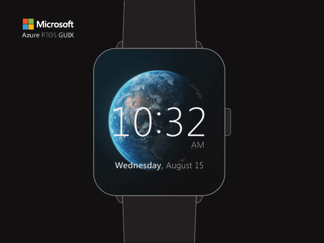 Embedded GUI Smart Watch